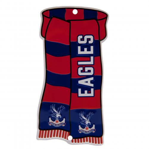 Crystal Palace F.C. Show Your Colours Window Sign