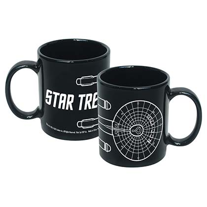 STAR TREK Enterprise Line Art Mug