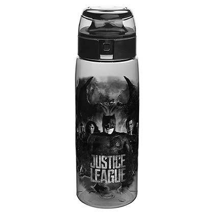 JUSTICE LEAGUE Travel Water Bottle With Loop