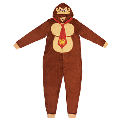 Donkey Kong Men's Pajama Union Suit