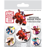 Big Hero 6 - Characters Pin Badge Pack