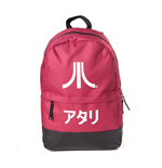 Atari - Red Backpack with Japanese Logo