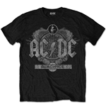 AC/DC Men's Tee: Black Ice