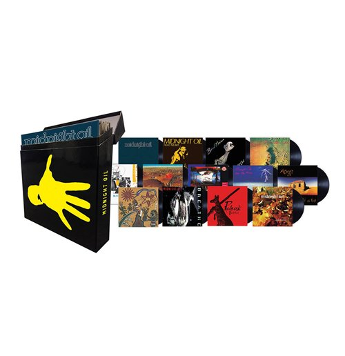 Vynil Midnight Oil - The Complete Vinyl Box Set (13 Lp)