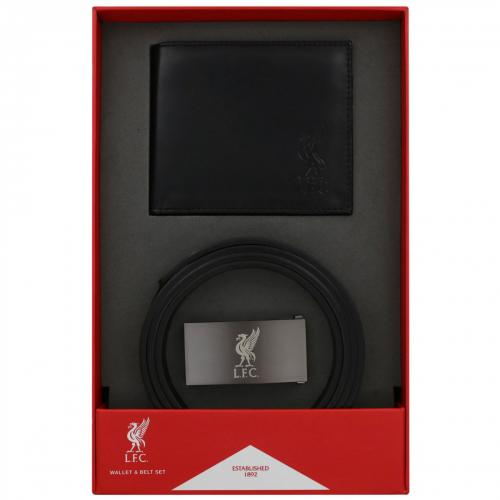 Liverpool F.C. Wallet & Belt Set