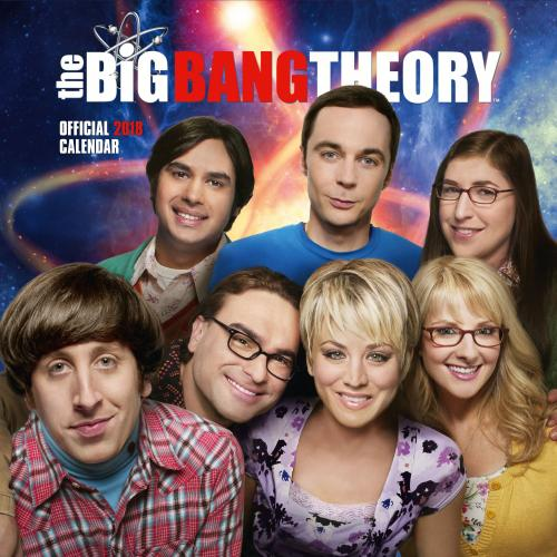 The Big Bang Theory Calendar 2018