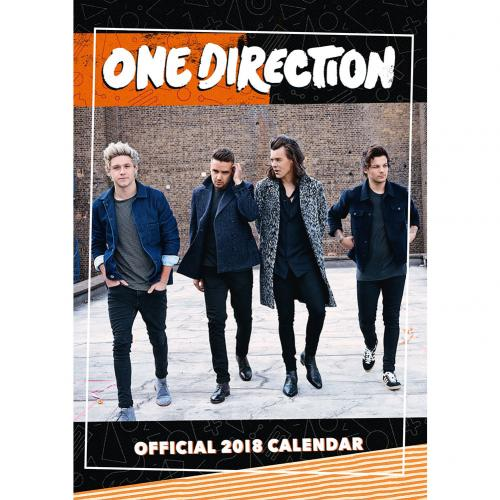 One Direction Calendar 2018