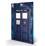 Doctor Who Print on wood 280451