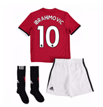 2017-2018 Man United Home Mini Kit (Ibrahimovic 10)