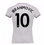 2017-2018 Man United Home Womens Third Shirt (Ibrahimovic 10)