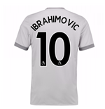 2017-2018 Man United Home Third Shirt (Ibrahimovic 10) - Kids