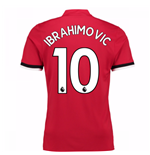 2017-2018 Man United Home Shirt (Ibrahimovic 10)