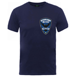 DC Comics Men's Tee: Arrow Starling Metro Badge
