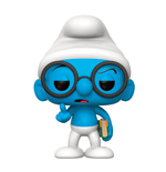 The Smurfs POP! TV Vinyl Figure Brainy Smurf 9 cm