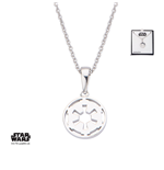 Star Wars Necklace Galactic Empire Symbol 46 cm (Sterling Silver)