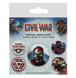 Captain America: Civil War Pin 280773