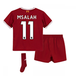 2017-18 Liverpool Home Mini Kit (M Salah 11)