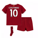 2017-18 Liverpool Home Mini Kit (Coutinho 10)