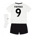 2017-18 Liverpool Away Mini Kit (Firmino 9)