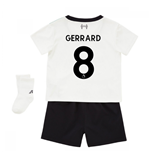 2017-18 Liverpool Away Baby Kit (Gerrard 8)