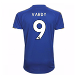 2017-18 Leicester City Home Shirt (Vardy 9) - Kids