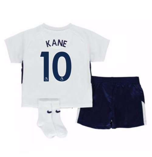 2017-18 Tottenham Home Baby Kit (Kane 10)