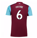2017-18 West Ham Home Shirt (Moore 6)