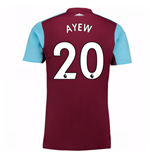 2017-18 West Ham Home Shirt (Ayew 20) - Kids