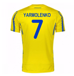 2017-18 Ukraine Home Shirt (Yarmolenko 7)