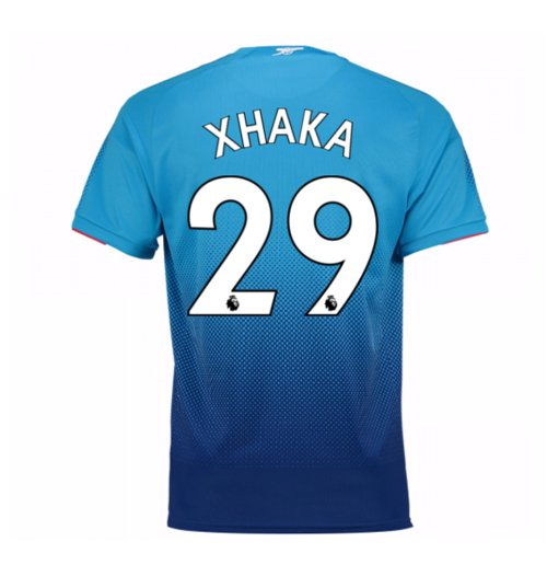 2017-2018 Arsenal Away Shirt (Xhaka 29)