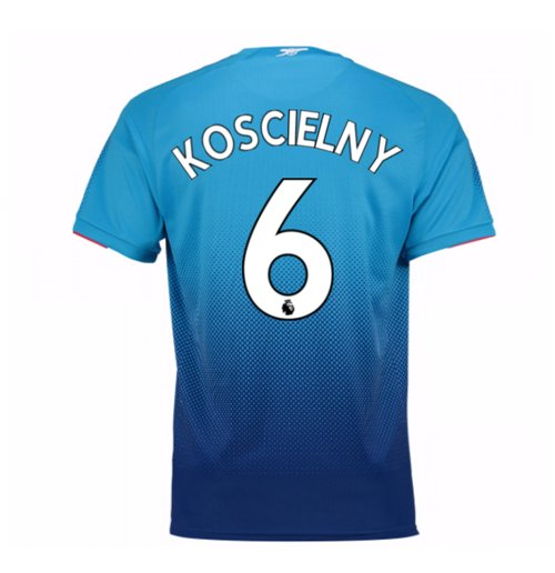 2017-2018 Arsenal Away Shirt (Koscielny 6) - Kids