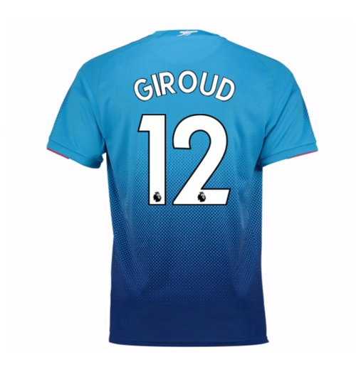 2017-2018 Arsenal Away Shirt (Giroud 12)