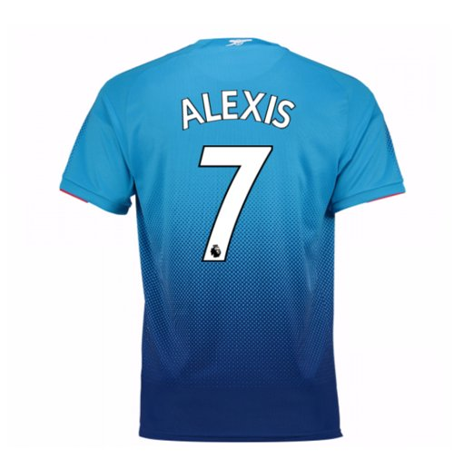 2017-2018 Arsenal Away Shirt (Alexis 7)