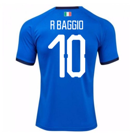 2018-19 Italy Home Shirt (R Baggio 10) - Kids