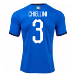 2018-19 Italy Home Shirt (Chiellini 3) - Kids