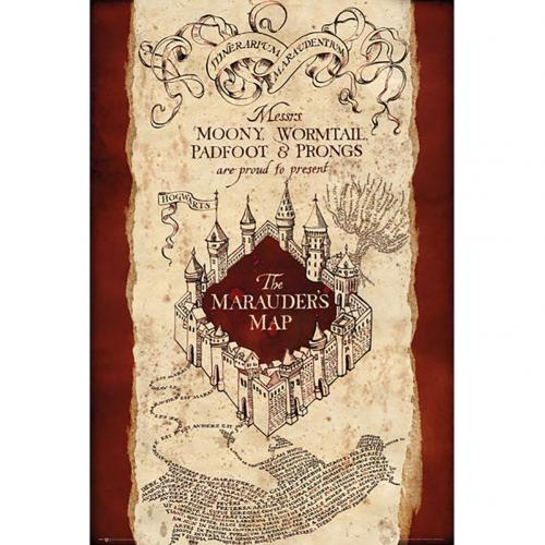 Harry Potter Poster Marauders Map 293