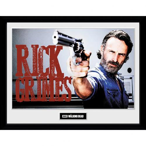 The Walking Dead Picture Rick Grimes 16 x 12