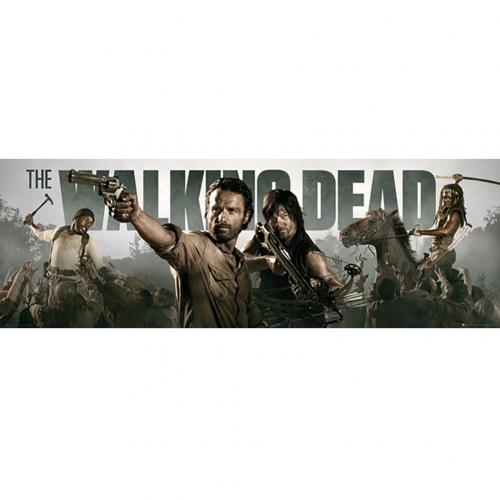 The Walking Dead Door Poster 316