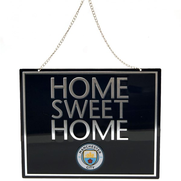 Manchester City F.C. Home Sweet Home Sign