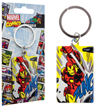 Marvel Comics Metal Keychain Iron Man 6 cm