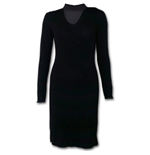 Gothic Elegance - Neck Band Elegant Dress