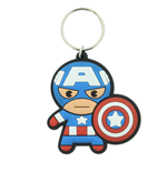 Marvel Kawaii - Captain America Keychain