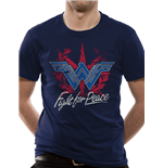 Wonder Woman Movie - Fight For Peace - Unisex T-shirt Blue