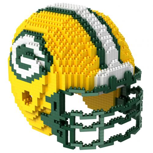 Green Bay Packers 3D BRXLZ Team Helmet