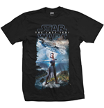 Star Wars Men's Tee: Episode VIII Falcon Composite