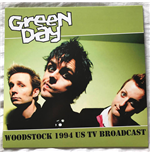 Vynil Green Day - Muddy And Violent In Woodstock 94 - Fm Broadcast