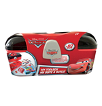 DISNEY Cars Toolbox with 60 Piece Creative Stationery Set