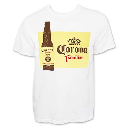 Corona Familiar White Tee Shirt