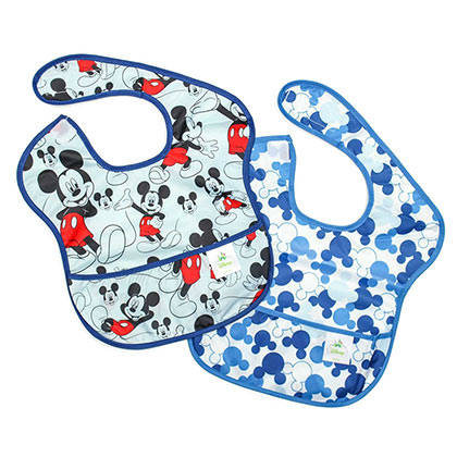 Mickey Mouse Bib Set