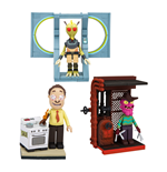 Rick and Morty Micro Construction Set Wave 1 Assortment (8)